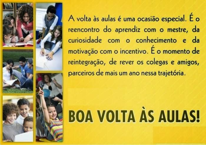 Projeto Volta As Aulas 01: Blog Do CEB: Ano Letivo 2015