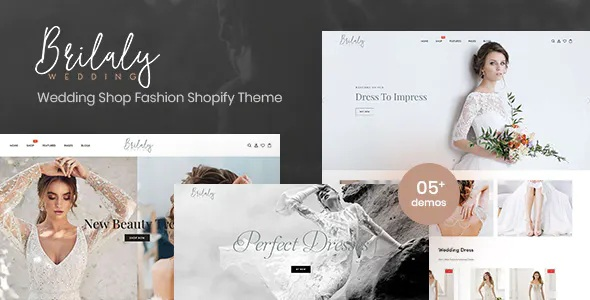 Best Wedding Shop Fashion Responsive Shopify Theme