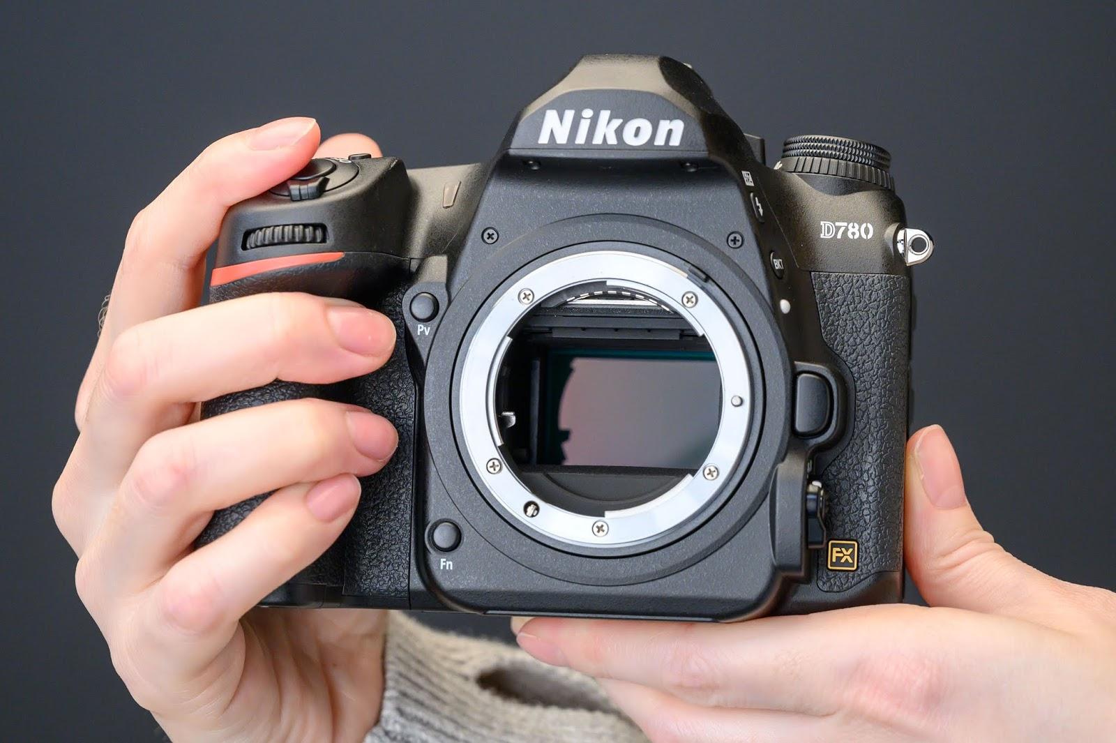 Сенсор в камере Nikon D780