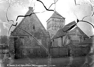 photographie eglise Saint-Saëns avant 1880