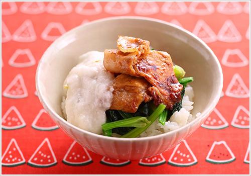スタミナ豚トロ丼