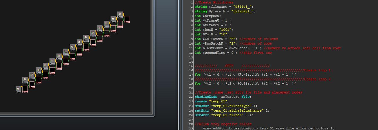 DEMI CG: Script for manual UDIMS in Maya for Vray