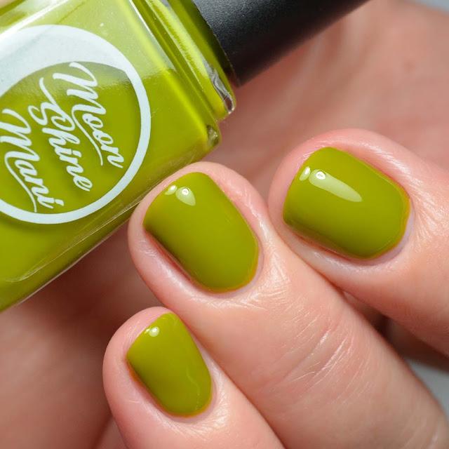olive nail nail polish swatch