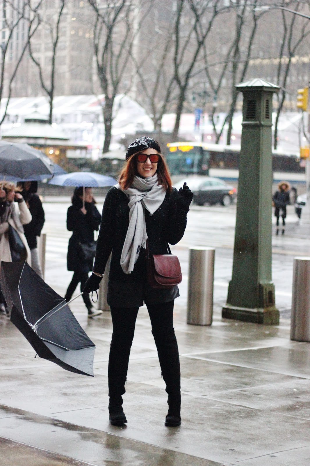 look invierno new york
