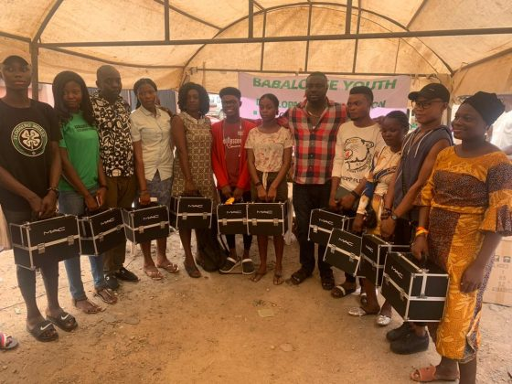 Babalonse Youth Development Foundation empowered Over 45 youths entrepreneur in Ibadan (see pictures)