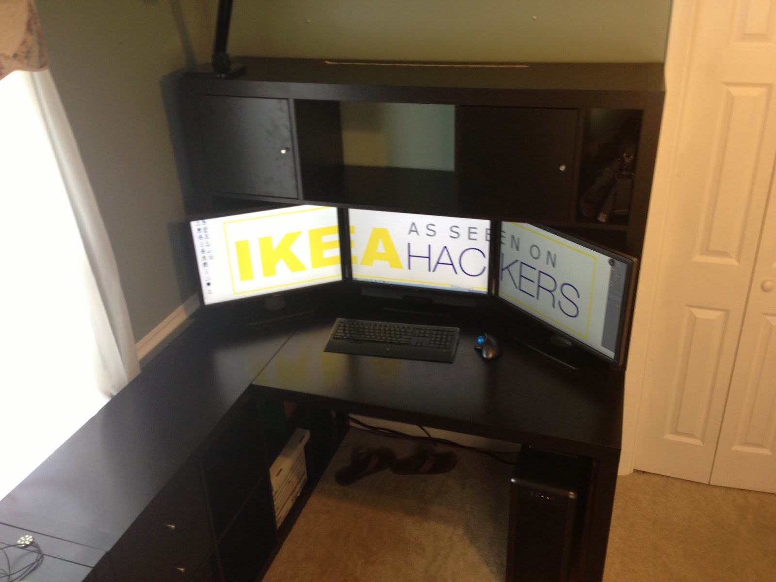 Expedit Desk With Hutch Ikea Hackers Ikea Hackers
