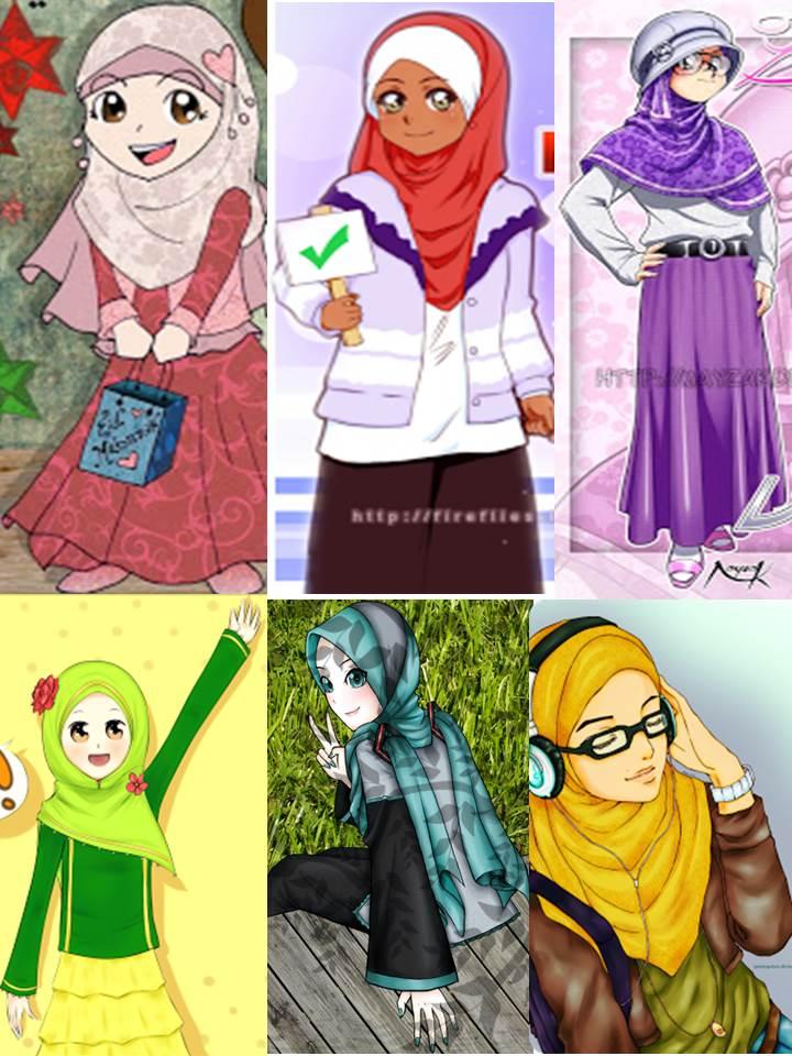 Perhatikan Hijabmu  genrambai