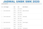 Jadwal UNBK Untuk SMK 2020, Simak Berikut Ini
