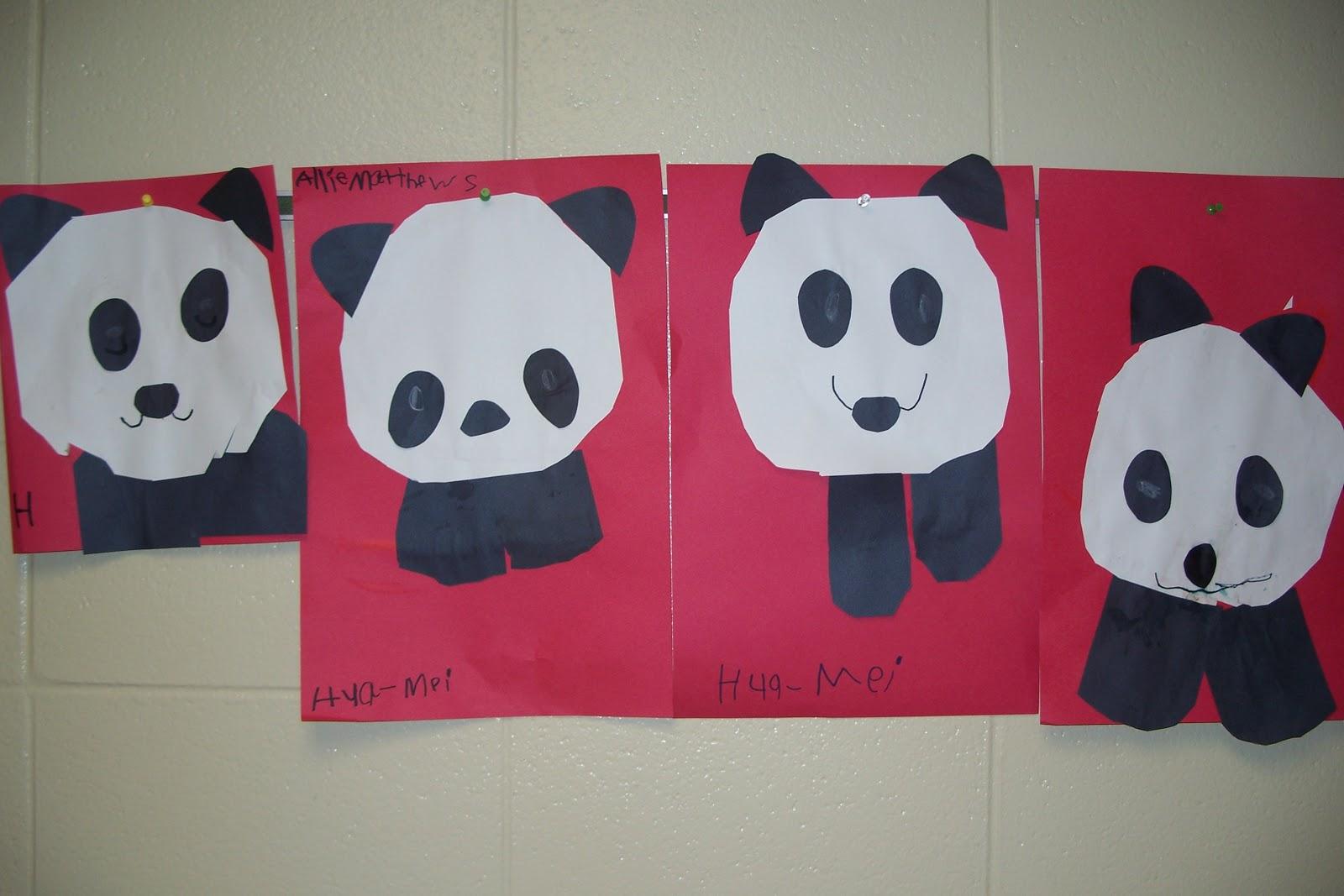 Mrs Doyle S Kindergarten Kaleidoscope Little Panda Art Activity