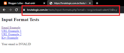 XSS In Limited Input Formats ( Contoh Email )