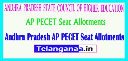Andhra Pradesh AP PECET APPECET 2018 Seat Allotments