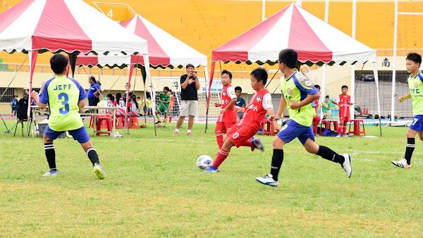彰化縣長盃足球賽開幕 運動三箭守護學子健康