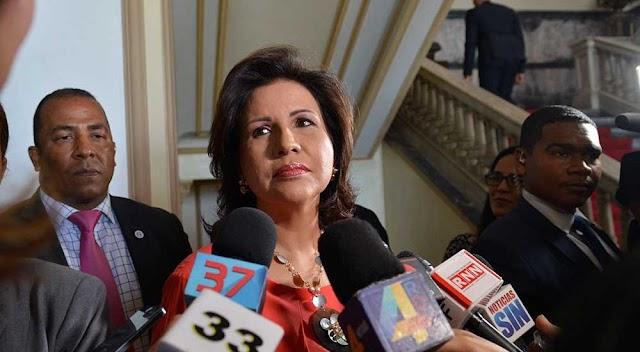 Revelan Margarita Cedeño dejará el PLD pero no la Vicepresidencia