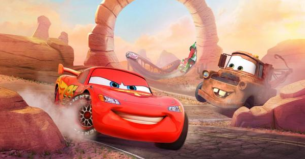 cars: fast as lightning online