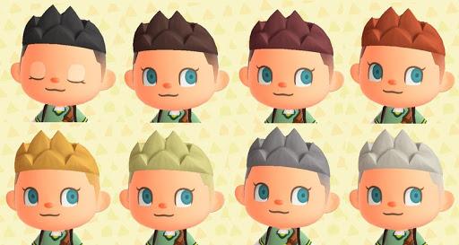 Simple y con estilo animal crossing peinados Galería de cortes de pelo Ideas - Animal Crossing: New Horizons: todos los peinados y ...