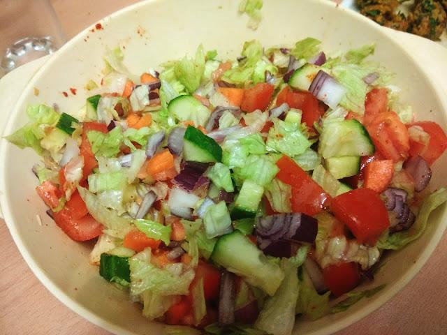 Healthy Ice burg Salad