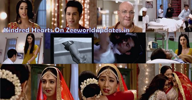 "Zee World Kindred Hearts 30th July 2019 Tuesday Written Update "" Jhanvi Saves Aditya and Dressed Up as Bride ""."