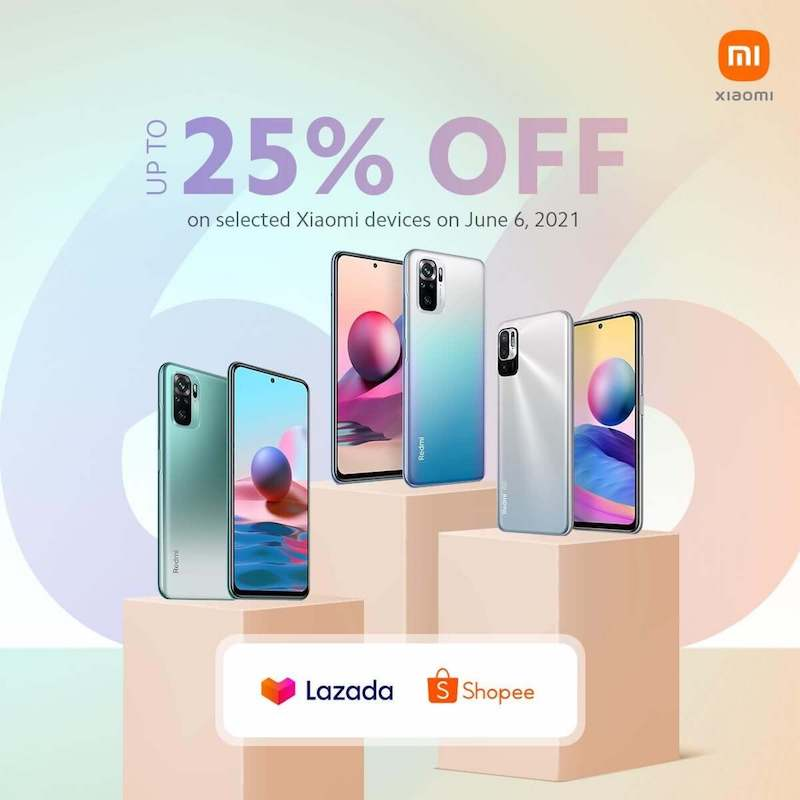 Deal: Xiaomi cuts the price of select smartphones up to 25 percent off on Lazada and Shopee 6.6 sale