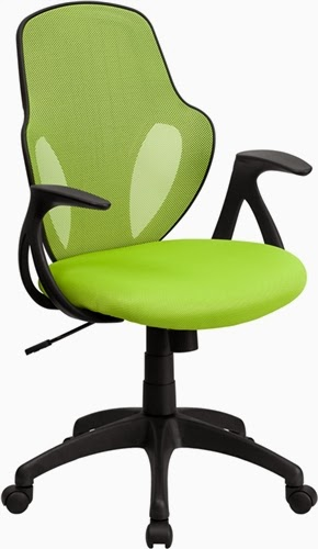 Flash Furniture Green Mesh Office Chair