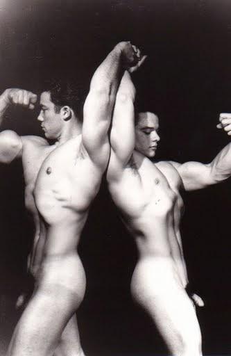 male models vintage beefcake jim park and tim sweeny