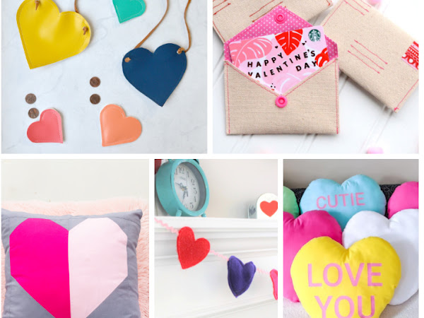 15+ Valentines Easy Sewing Project Ideas