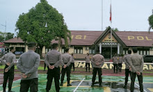 Gelar Apel Siaga, Kabag Ops Polres Melawi : TNI-Polri dan Instansi Terkait Akan Antisipasi Kerumunan Perang Petasan