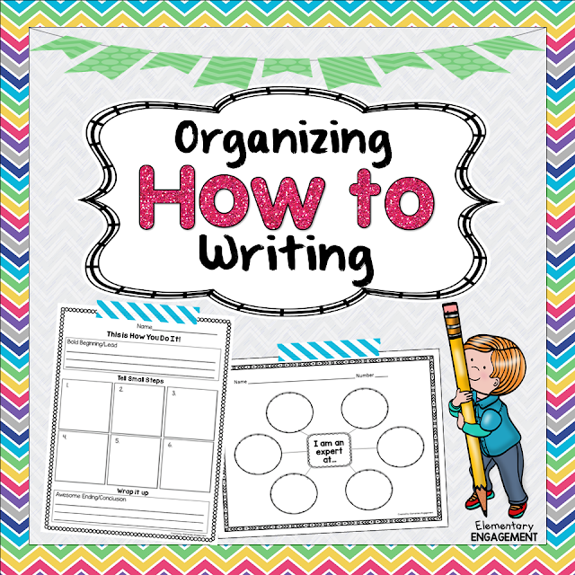 Organize your How to writing with the freebies on this post!