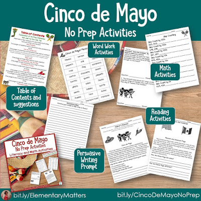 https://www.teacherspayteachers.com/Product/Cinco-de-Mayo-No-Prep-Activities-for-Literacy-and-Math-1223544?utm_source=Blog%20post%20may%20resources&utm_campaign=cinco%20de%20mayo