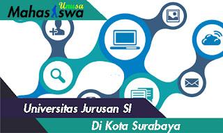 kuliah sistem informasi di kota surabaya