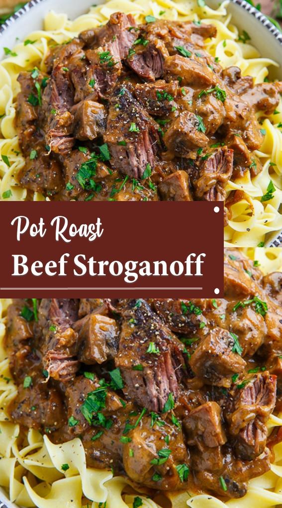 Pot Roast Beef Stroganoff Recipe