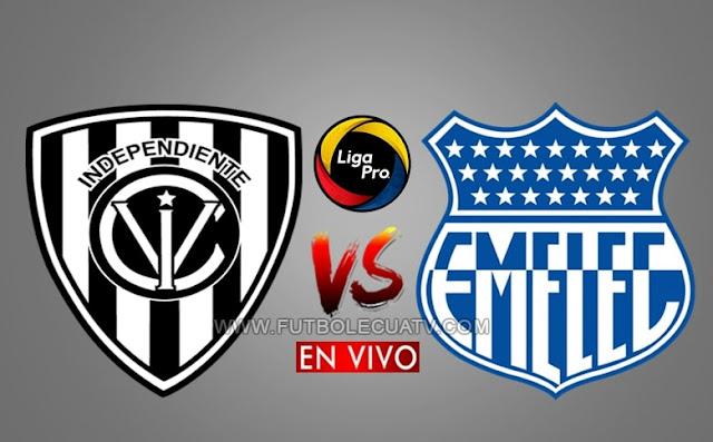 Independiente del Valle recibe a Emelec en vivo a partir de las 17h30 hora local, prosiguiendo la jornada 12 de la liga pro, con transmisión de GolTV Ecuador a efectuarse en el campo Olímpico Atahualpa. Siendo el juez principal Luis Quiroz.