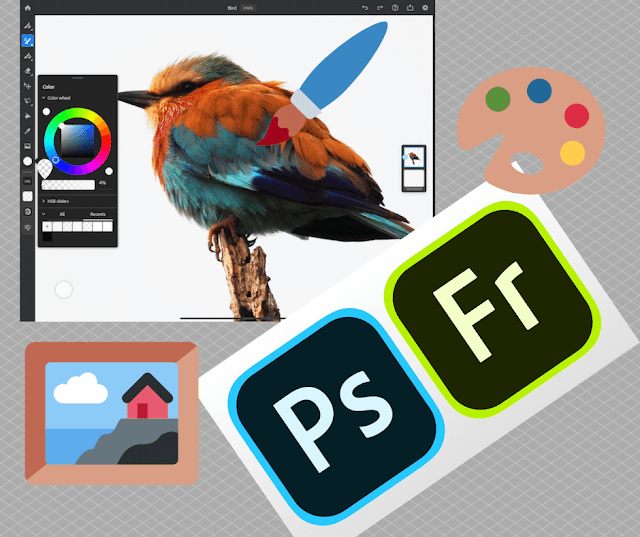 Adobe Photoshop and Fresco on the iPad now comes bundled together