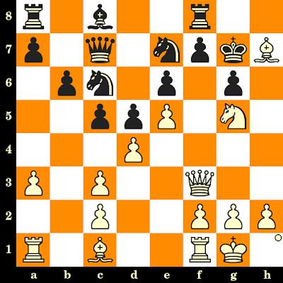 Les Blancs jouent et matent en 3 coups - Sebastian Tudorie vs Shamir Sivakumaran, Varsovie, 1991