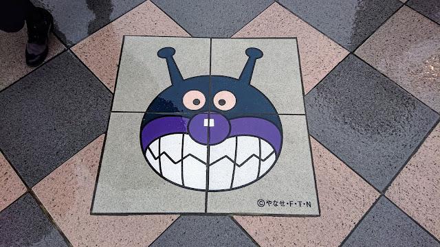 仙台駅 バイキンマン