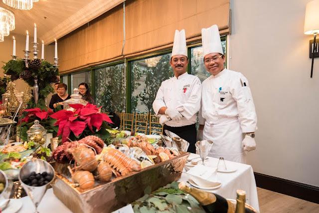 Executive Chef Zaffar Samad &  Chef De Cuisine, Chef Aris Of The Ritz-Carlton Kuala Lumpur