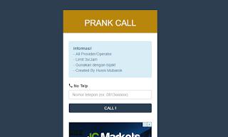 Cara Prank Call Tokopedia ke Nomor Orang Lain Tanpa Aplikasi