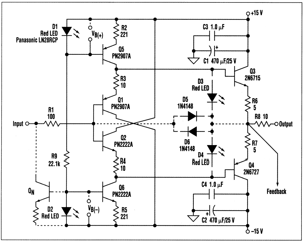 Op Amp High Performance Buffers Part 2 Diy Audio Blog Single Supply Design A Flexible Class Buffer To Fulfill The Function Of Discrete Version Unity Gain Consider Schematic In Figure