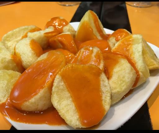 Patatas Bravas del Bar las Bravas de Madrid
