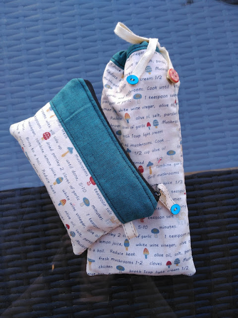 costura, couture, sewing, cuttlery bag, bourse a coutellerie, bolsa cubiertos, neceser cepillo dientes, toothbrush pouch, pochette brosse a dents