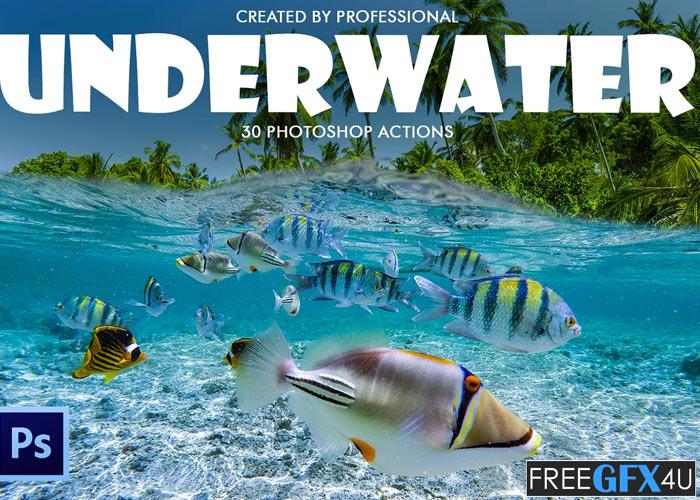 Underwater Photoshop Actions