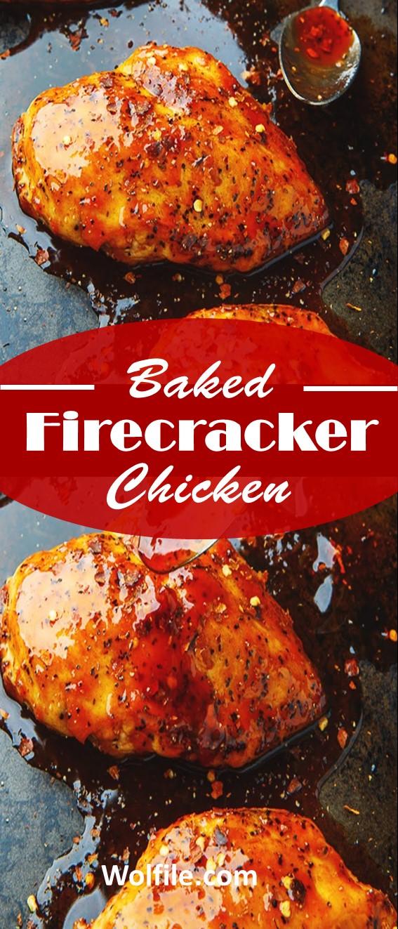 Baked Firecracker Chicken #Chicken
