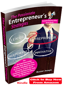 the passionate entrepreneurs strategies book by buzzer joseph