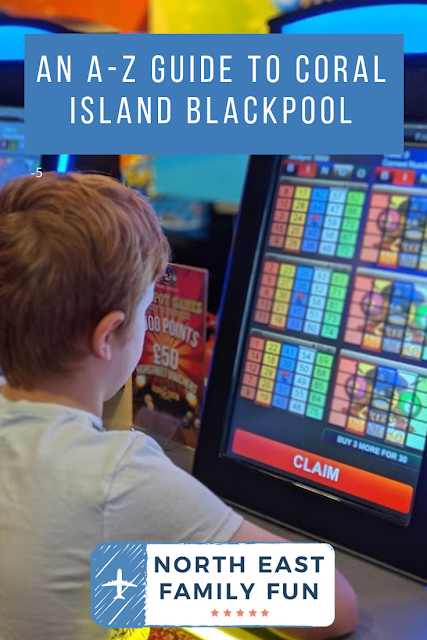 An A-Z Guide to Coral Island, Blackpool