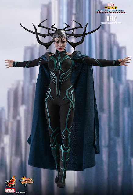 osw.zone Hot Toys Thor: Ragnarok 1/6 scale Cate Blanchett as a Hela 12-inch collectible figure