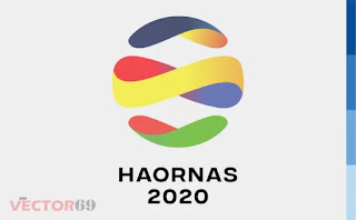 Logo Hari Olahraga Nasional (HAORNAS) 2020 - Download Vector File EPS (Encapsulated PostScript)