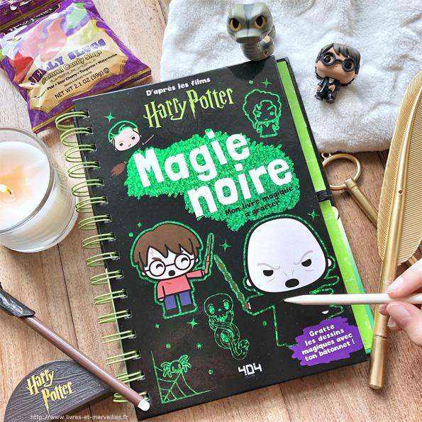 Magie noire - Mon livre magique à gratter