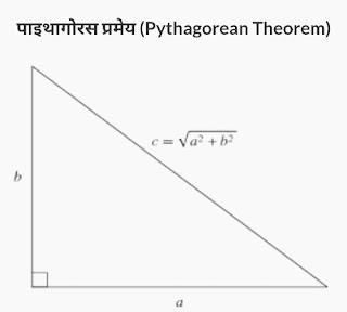 पाइथागोरस प्रमेय (Pythagorean Theorem)