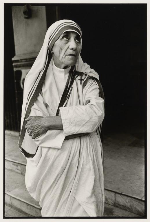 Mother Teresa in Calcutta (Kolkata) - 1980