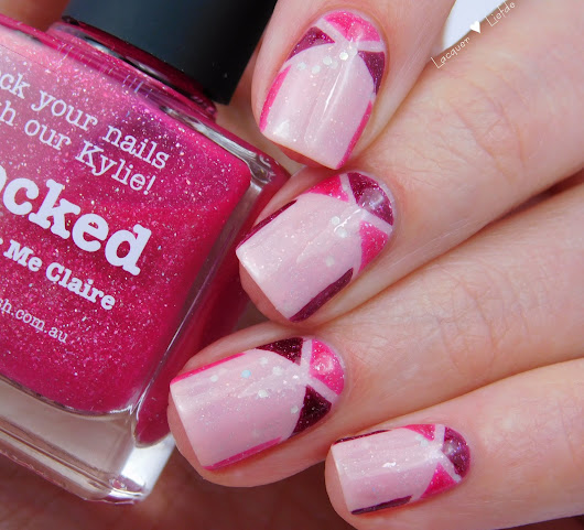 Girly Picture Polish Nails