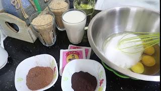 مطبخ ام وليد _   كيكة الشوكولا بالخبز اليابس و المسقية بصوص قمة ، تذوب ذوبان في الفم